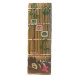 Min Hong Green Bamboo Sushi Mat 24*24cm