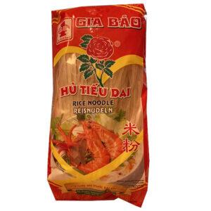 Rice Noodle Hu Tieu Dai (Rose) - 400g