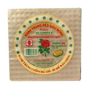 Rice Paper Rose 22CM - 400g