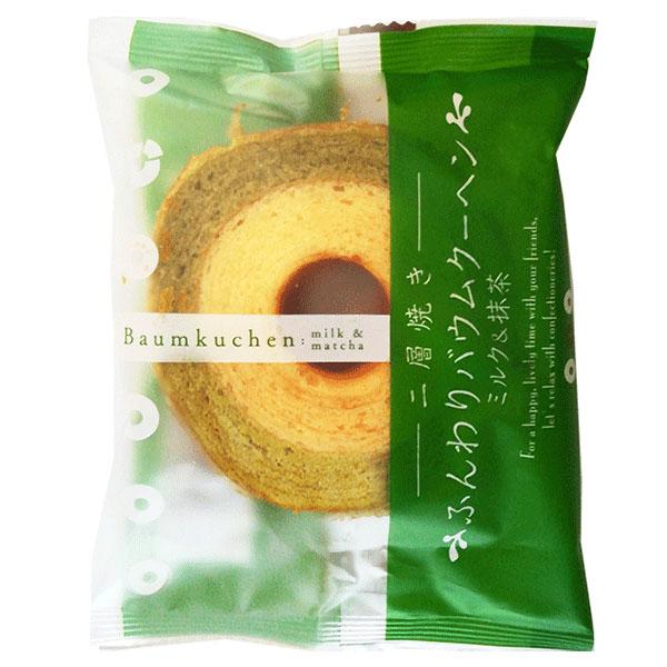 Taiyo Baumkuchen Milk & Matcha - 65g
