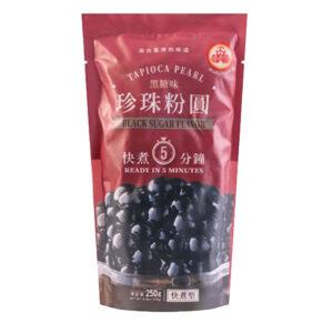Tapioca Pearl Black Sugar Flavor - 250g