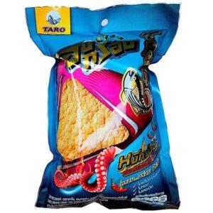 Taro Crispy Fish Snack Hot & Spicy Grilled Squid Flavor - 17g