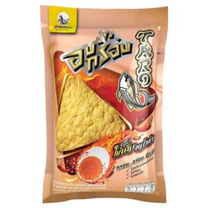 Taro Crispy Fish Snack Mala Salted Egg Flavor - 17g