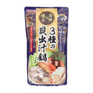 Daisho Hot Pot Soup 3 Shellfish & Yuzu Flavor - 750g