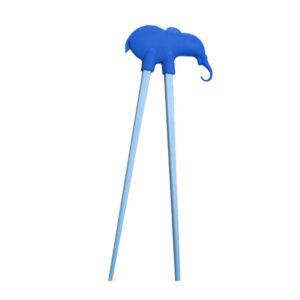 Elephant Plastic Children Chopsticks - 22cm