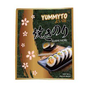 Yummyto Roasted Sushi Nori (10 sheets) - 25g